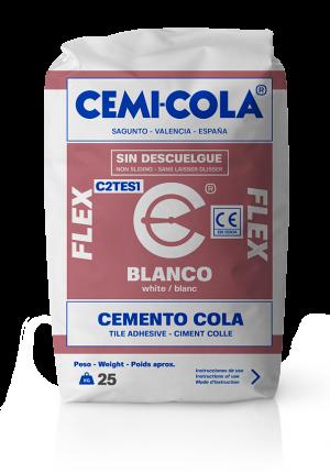 Cemento cola blanco flex Cemi-Cola