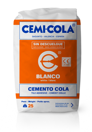Cemento cola blanco Normal Cemi-Cola