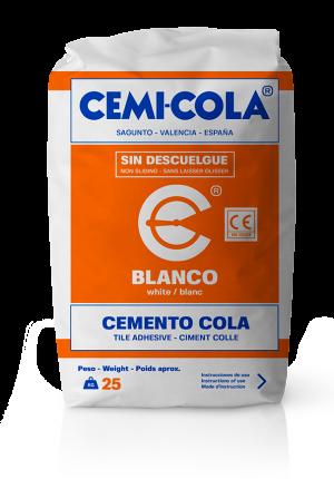 Cemento cola blanco Standard Cemi-Cola