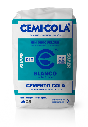 Cemento cola blanco Super Cemi-Cola